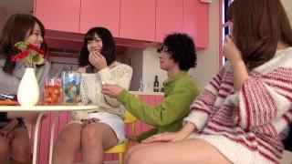 Best Japanese whore Saki Kanasaki, Mei Akizuki, Ririka Suzuki, Amateur in Hottest kitchen, group sex JAV scene