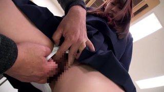Hottest Japanese whore Amateur in Crazy college, fingering JAV video